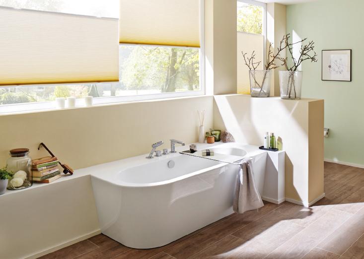 ein perfekter tag mit duette wabenplissee. Black Bedroom Furniture Sets. Home Design Ideas